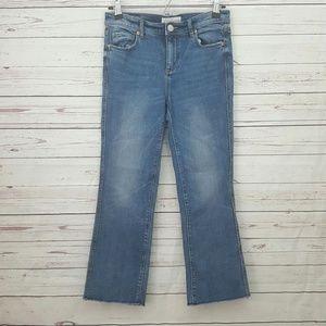 LOFT vintage straight jeans fray size 0 / 25